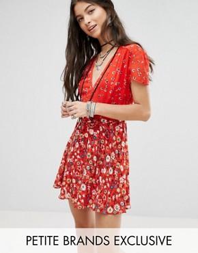 asos floral tea dress £32.99